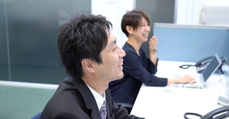 笑顔の東條さん